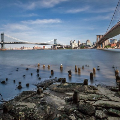 Brooklyn Bridge, Williamsburg Bridge