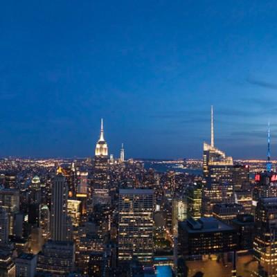 Twilight, Manhattan Panorama
